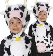 Moo Cow Tabbard - Toddler Costume Fancy Dress