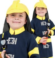 Fireman Boy - Child Costume Fancy Dress
