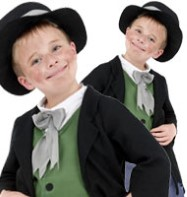 Dodgy Victorian Boy - Child Costume Fancy Dress