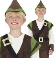 Robin Hood - Child Costume Fancy Dress
