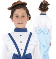 Posh Victorian Girl - Child Costume Fancy Dress