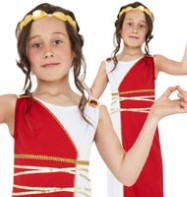 Grecian Girl - Child Costume Fancy Dress