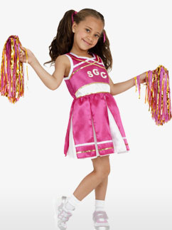Cheerleader - Child Costume Fancy Dress