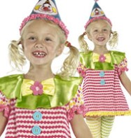 Clown Cutie - Toddler Costume Fancy Dress