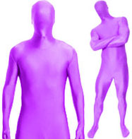 Morphsuit Purple - Adult Costume Fancy Dress