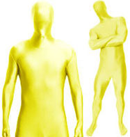 Morphsuit Yellow - Adult Costume Fancy Dress