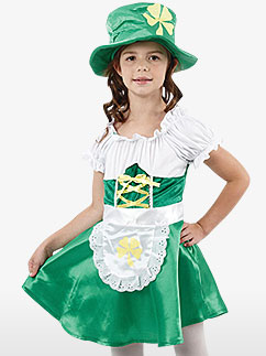 Leprechaun Girl - Child Costume