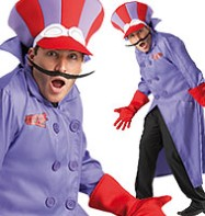 Dick Dastardly - Adult Costume Fancy Dress