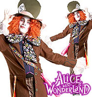 Disney Mad Hatter - Adult Costume Fancy Dress