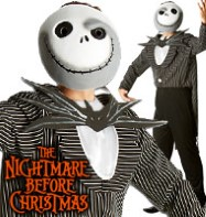 Nightmare Before Christmas Jack Skellington - Adult Costume Fancy Dress