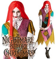 Nightmare Before Christmas Sally - Adult Costume Fancy Dress