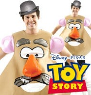 Mr. Potato Head - Adult Costume Fancy Dress