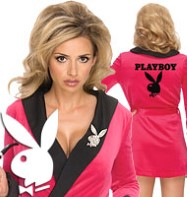 Playboy Pink Sexy Girfriend - Adult Costume Fancy Dress