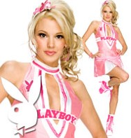 Playboy Cheerleader - Adult Costume Fancy Dress