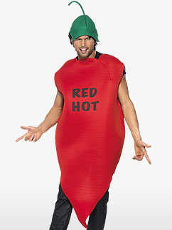 Chilli Pepper - Adult Costume Fancy Dress