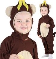 Monkey - Toddler Costume