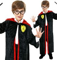 Wizard Boy - Child Costume Fancy Dress