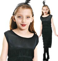Flapper  - Child Costume Fancy Dress