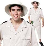 Safari Explorer - Adult Costume Fancy Dress