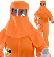 Radiation Suit - Adult Costume Fancy Dress