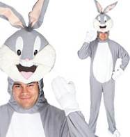 Bugs Bunny - Adult Costume Fancy Dress