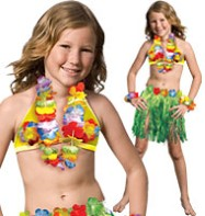 Luau Girl - Child Costume Fancy Dress