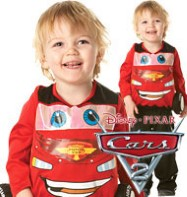 Cars 2 Lightning McQueen - Toddler Costume Fancy Dress