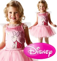 Piglet Ballerina - Child Costume Fancy Dress
