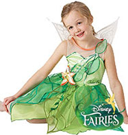 Tinkerbell Disney Fairy - Child Costume Fancy Dress