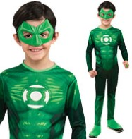 Green Lantern Hal Jordon - Child Costume Fancy Dress