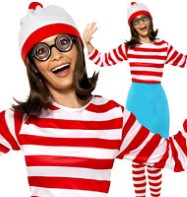 Where's Wally Wenda - Adult Costume Fancy Dress