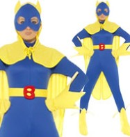 Bananaman Female - Adult Costume Fancy Dress