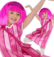 Lazy town Stephanie - Toddler Costume Fancy Dress