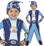 Lazy Town Sportacus - Toddler Costume Fancy Dress
