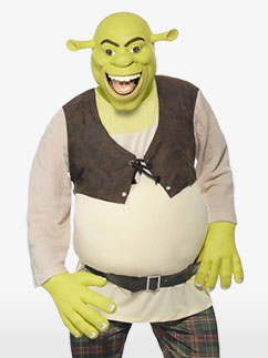 Shrek - Adult Costume Fancy Dress