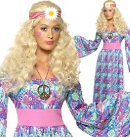 Flower Child - Adult Costume Fancy Dress