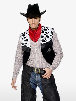 Cowboy Leathers - Adult Costume