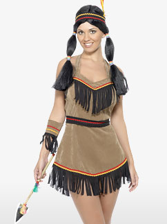 Indian Woman - Adult Costume