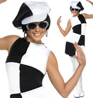1960's Party Girl - Adult Costume Fancy Dress