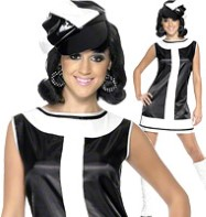 1960's Groovy Chick - Adult Costume Fancy Dress