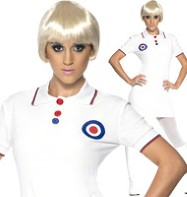 1960's Mod - Adult Costume Fancy Dress