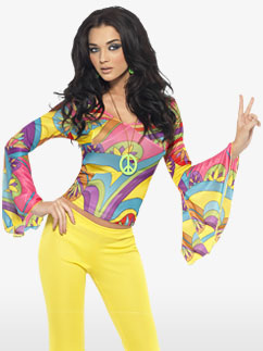 70's Groovy Babe - Adult Costume