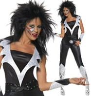 Glam Rock Chick - Adult Costume Fancy Dress