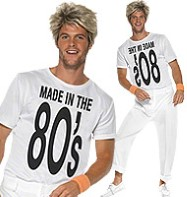 Made in the 80's - Adult Costume Fancy Dress