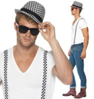 Ska Kit - Adult Costume Fancy Dress