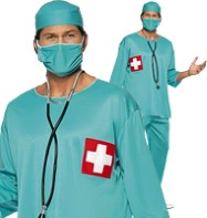 Surgeon - Adult Costume Fancy Dress