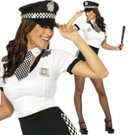 Cop - Adult Costume Fancy Dress