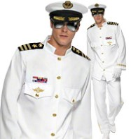 Captain Deluxe - Adult Costume Fancy Dress