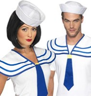 Sailor Neck Tie - Adult Costume Fancy Dress