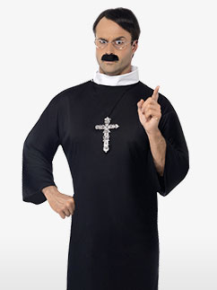 Priest - Adult Costume Fancy Dress